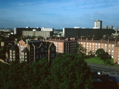 View of Heygate Street development from Northeast