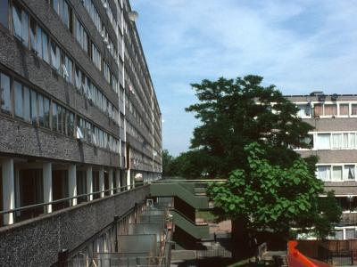 View of Aylesbury Estate from South