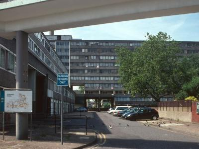 View of Aylesbury Estate from East