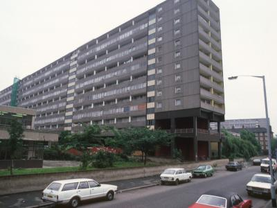 View of 14-storey blocks in Aylesbury Estate