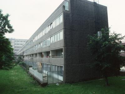 View of Aylesbury Estate with 5-storey element in foreground