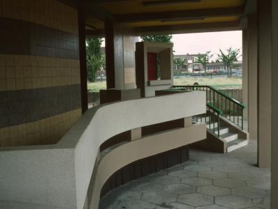 Entrance to Sivill House