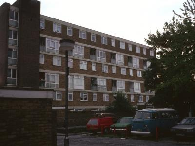 View of Bay Court from Frimley Way