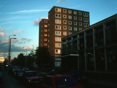 View of Kedge House from Tiller Street
