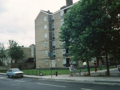 View of Briggs House from Gosset Street