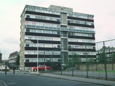 View of Lister House from Lomas Street