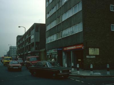 6-storey blocks on Morpeth Street