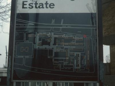 Map of St George's Estate