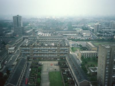 View West from 24th floor of Balfron Tower