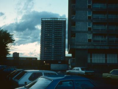 View of 22-storey blocks in Cambridge Road Redevelopment Area
