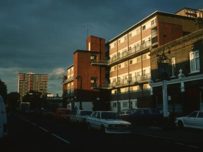 View of Osborne Court with Leyton Green Towers in background