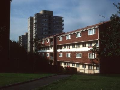 View of 11-storey blocks on Alton Estate (East)