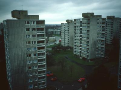 General View of 12-storey blocks on Alton Estate (West)