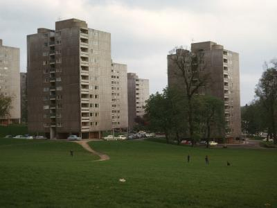 View of 12-storey blocks on Manresa Site of Alton Estate (West) from South