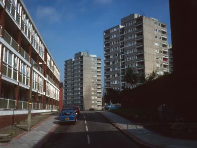 View of 12-storey blocks on Manresa Site of Alton Estate (West)