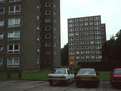 View of 10-storey blocks on Argyle Estate
