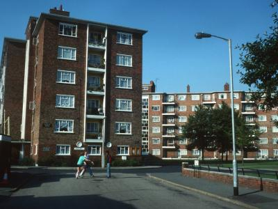 View of 6-storey blocks on Ranelagh Estate
