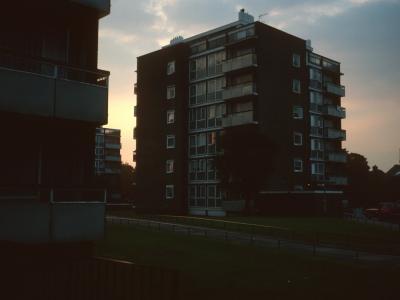 View of 7-storey blocks on Fayland Estate