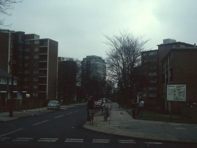 View of 9-storey blocks with 146-256 Keevil Drive in background