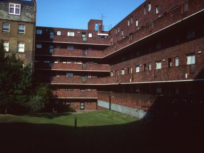 View of Lockyer House from interior courtyard