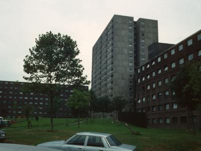 View of blocks on Stonebridge Estate