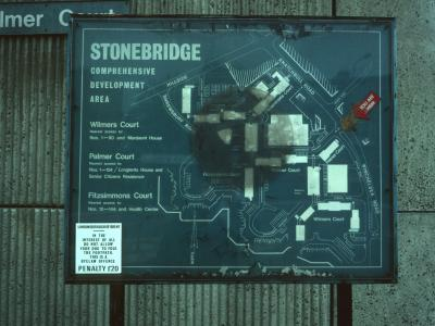 Map of Stonebridge Comprehensive Development Area