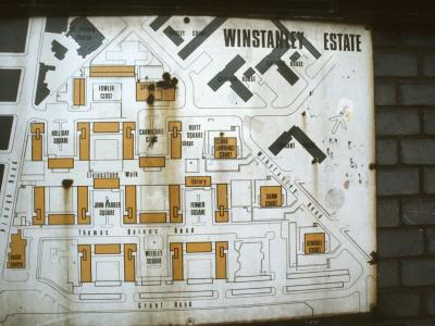 Map of Winstanley Estate