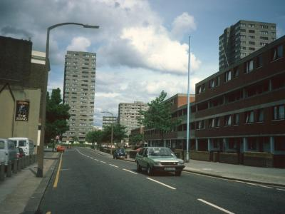 General view of Surey Lane Estate