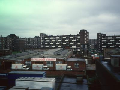 View of 6-storey blocks on Patmore Estate
