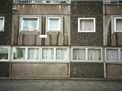 Detail view of block on Doddington Estate