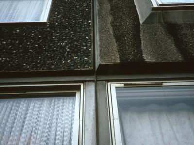 Detail view of block on Doddington Estate