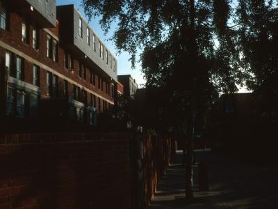 View of South section of Lillington Street Estate