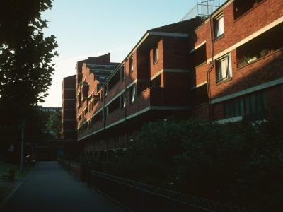 View of North section of Lillington Street Estate