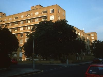 View of 8-storey blocks on Howley Place