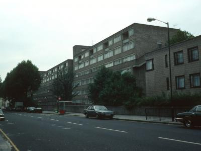 View of Charfield Court from Shirland Road