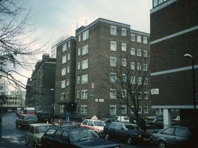 View of Elmer House from corner of Broadley Street and Penfold Street