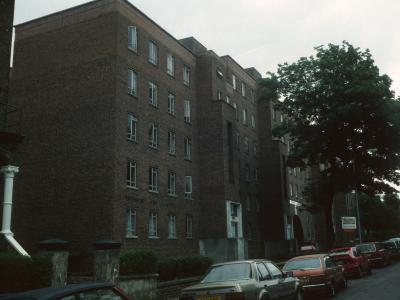 View of Primrose Hill Court from King Henry's Road