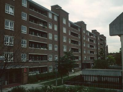 View of 6-storey block on Alexandra and Ainsworth Estate