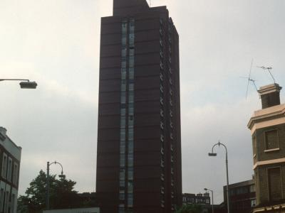 View of 1-91 Denton from Malden Crescent