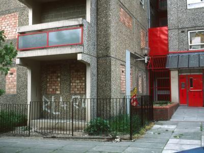 Ground floor exterior of Hawkridge House