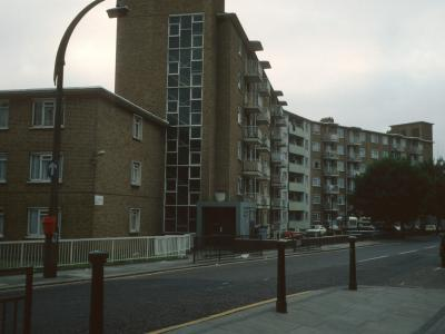 View of Westerham from Bayham Street