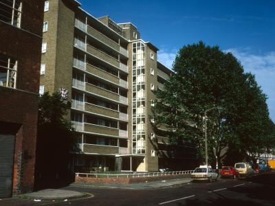 View of Collinson Court from Great Suffolk Street