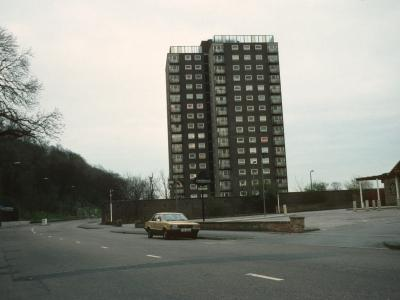 View of Clowick Woods Court from Colwick Road