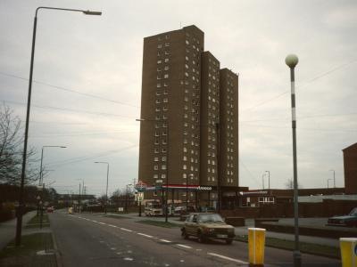 View of Southchurch Court from Farnborough Road