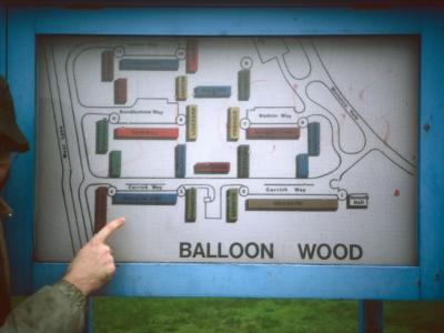 Map of Balloon Wood Estate