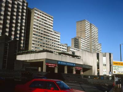 View of Victoria Centre from Glasshouse Street