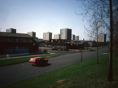 View of Castle Vale from Kingsbury Road
