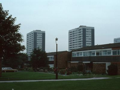 View of 16-storey blocks on Tangmere Drive