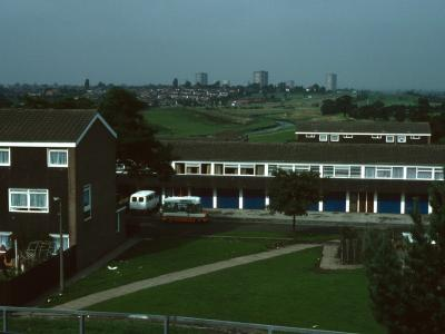 View of Chelmsley Wood from Southeast