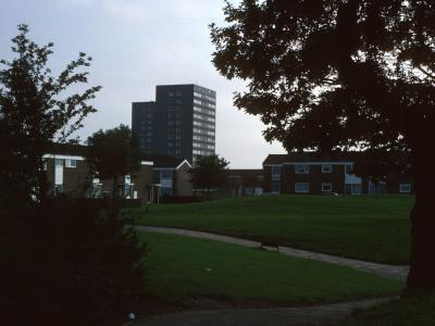 View of Warwick Court and Chester Court